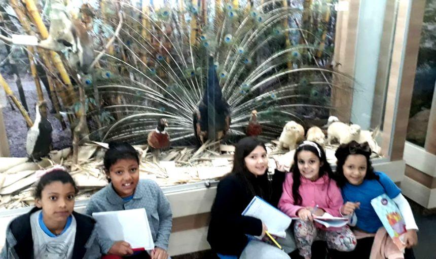 Alunos de Ubiratã fizeram visita de estudos em Cascavel