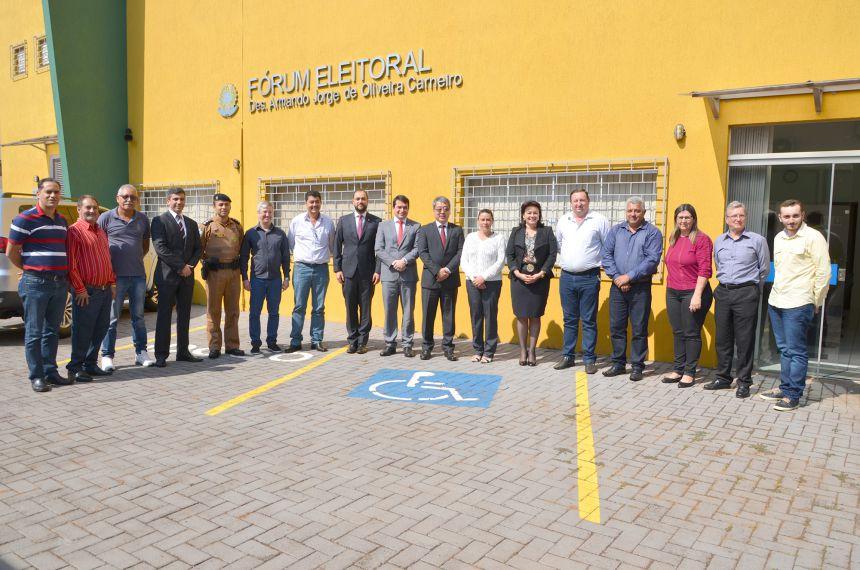 Corregedoria Regional Eleitoral do TRE do Paraná realiza correição e audiência pública em Ubiratã