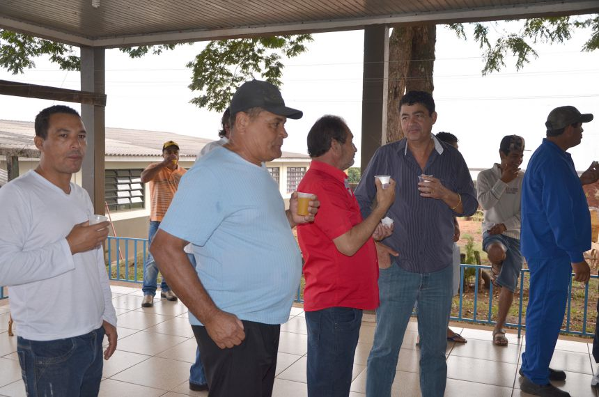CMEI Conjunto Boa Vista comemora Dia dos Pais