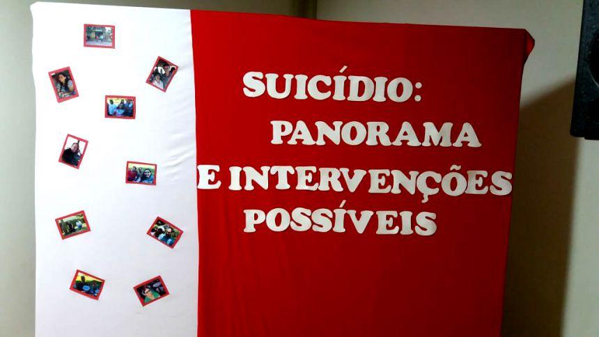 Profissionais de saúde participaram de capacitação sobre um tema que vem preocupando muito a população: o suicídio