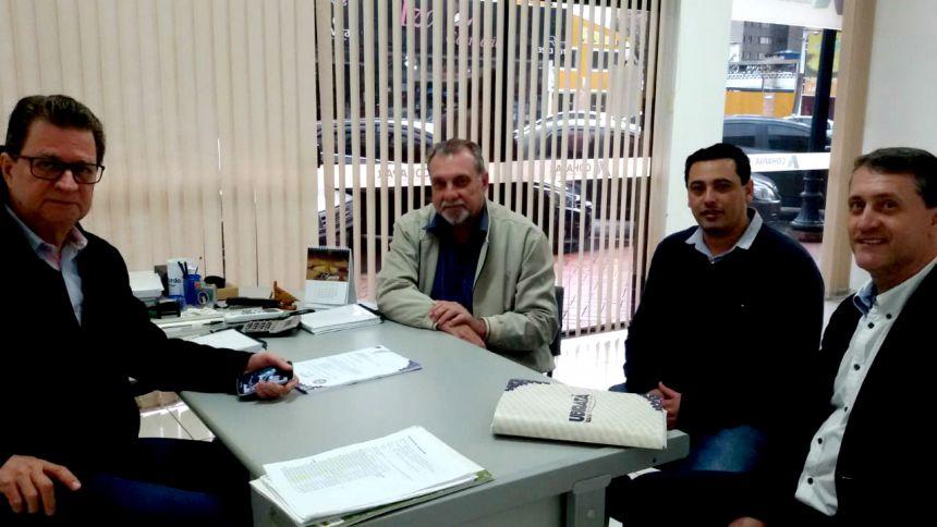Prefeito Baco e assessores cumprem agenda de trabalho em Campo Mourão e Maringá