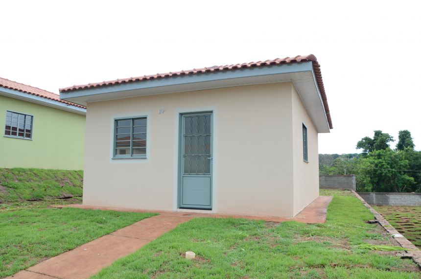 Entrega de 106 casas no Parque das Flores será no dia 18 de janeiro