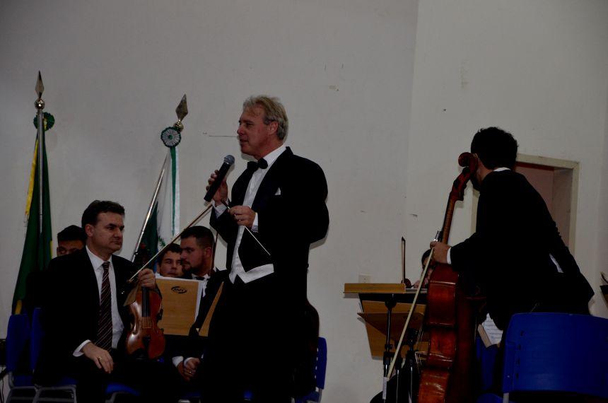 Orquestra de Câmara do Oeste do Paraná se apresentou em Ubiratã