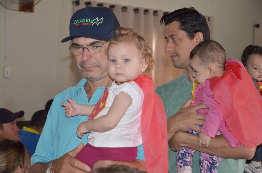 Comemoração do Dia dos Pais no CMEI Nosso Lar