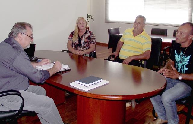 Vários assuntos foram debatidos entre o prefeito e os representantes do bairro