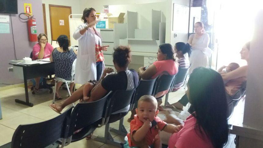Unidade de Saúde Vila Esperança realiza atendimento de puericultura