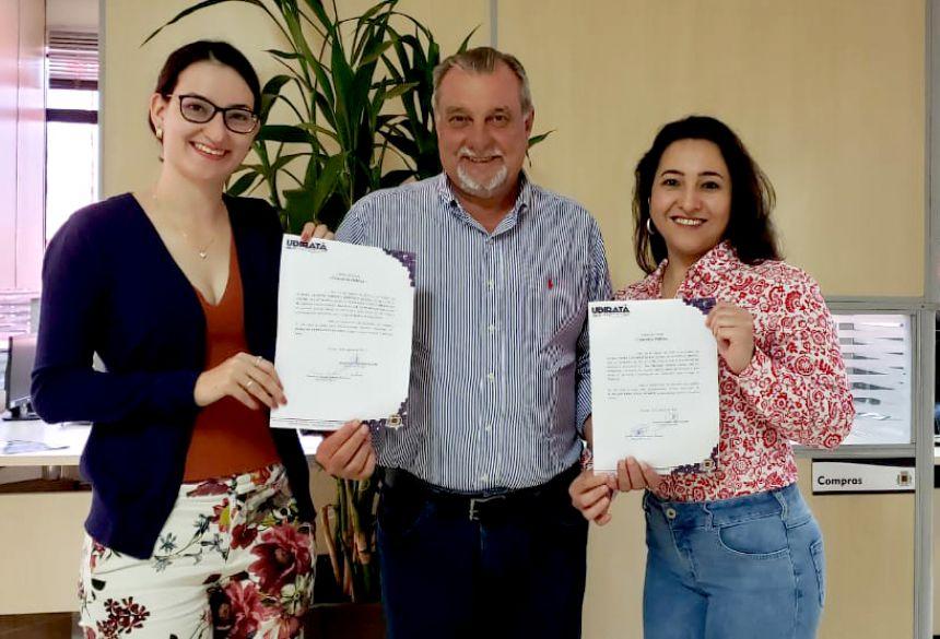Aprovadas no concurso de 2018 tomaram posse em Ubiratã
