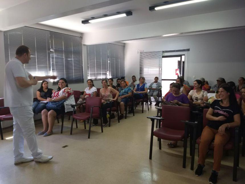 Servidores Municipais participam de palestra sobre segurança, prevenção e qualidade de vida