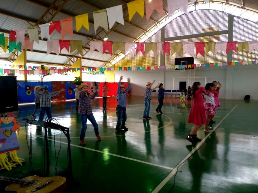Festa Junina na Escola Municipal Gentil Toledo de Morais Jr