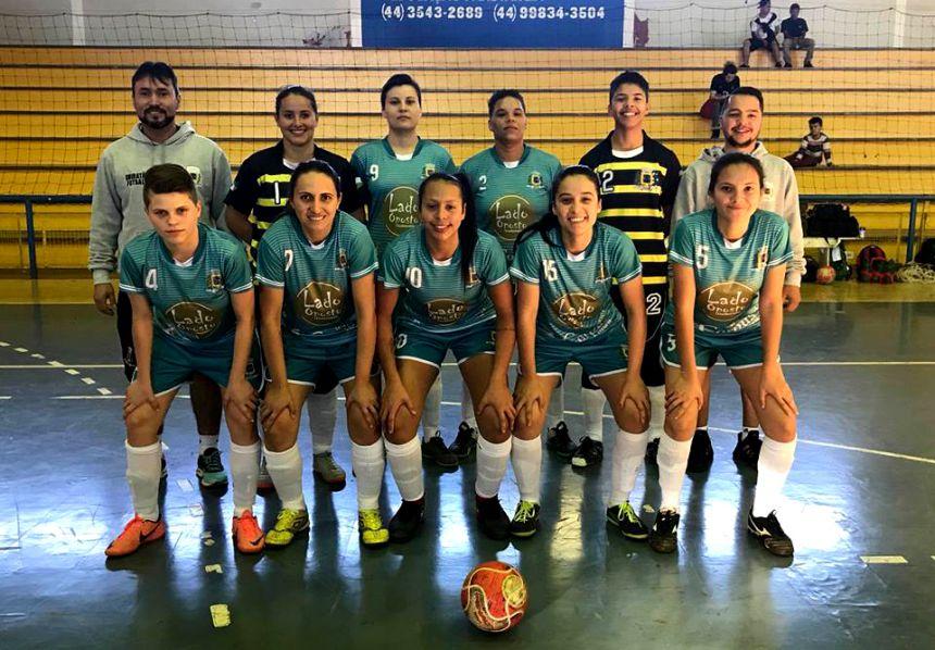 Time feminino de futsal de Ubiratã vai disputar final da Copa Amop 2018