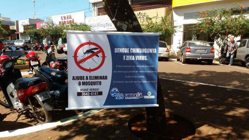 """""""Dia D de Combate a Dengue"""" foi realizado em Ubiratã"""
