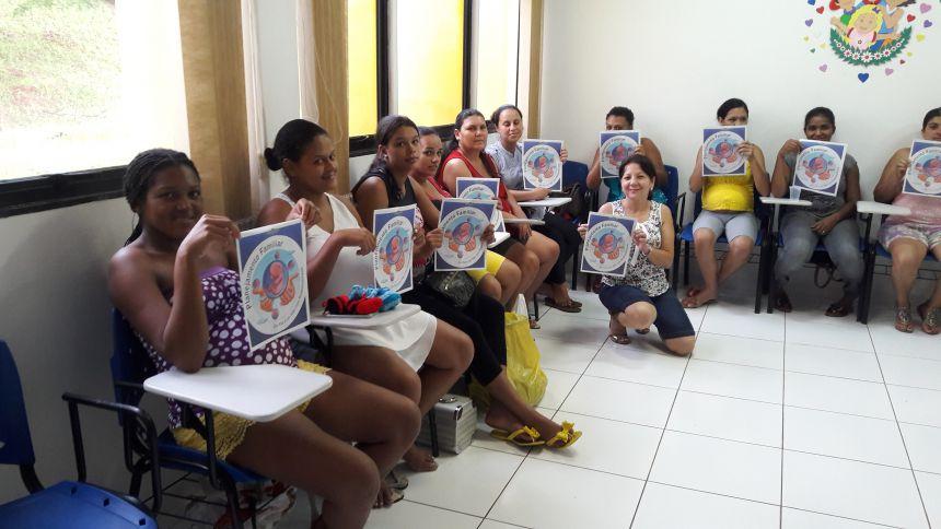 Serviço de Convivência e Fortalecimento de Vínculos é oferecido às gestantes