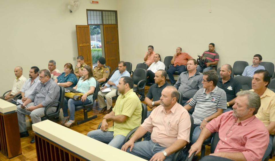 A reunião aconteceu no Fórum de Ubiratã