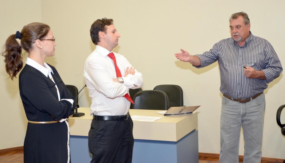 Prefeito Baco parabenizou a atitude do Ministério Público por buscar uma solução para o caso da falta de segurança na Comarca
