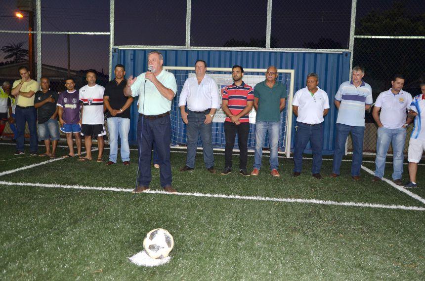 Distrito de Yolanda ganhou uma moderna estrutura esportiva