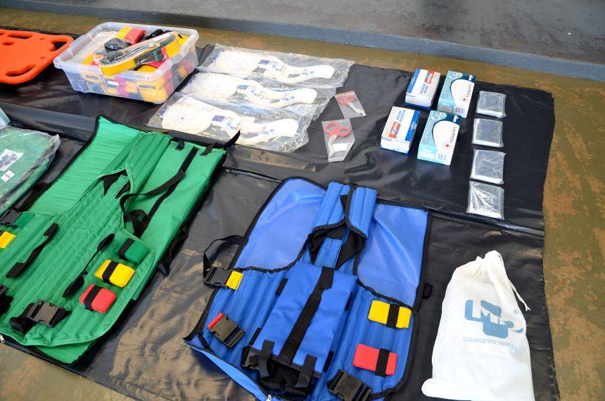 Administração Municipal adquire materiais de atendimento pré-hospitalar para Bombeiro Comunitário de Ubiratã