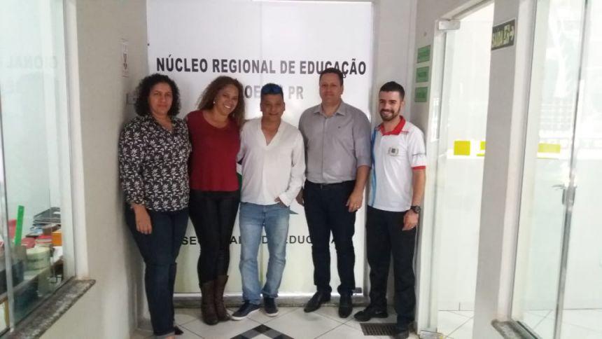 Núcleo de Educação de Goioerê aprova realização do 1º Festival de Atletismo Escolar de Ubiratã