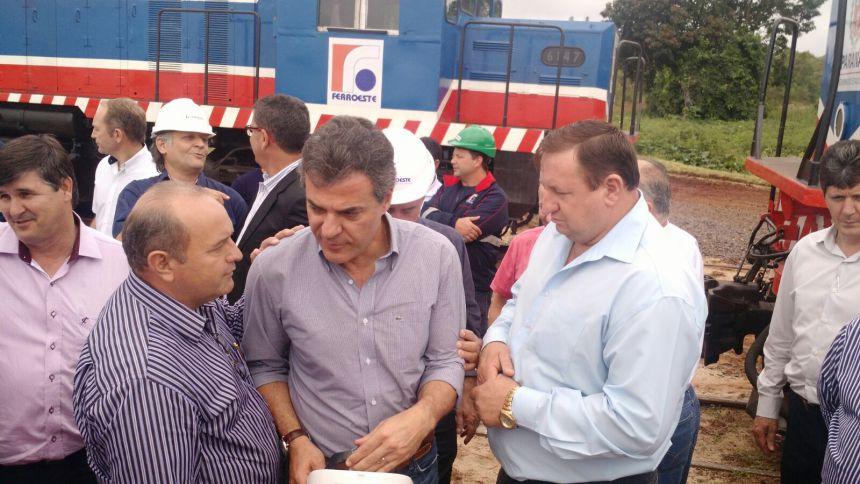 Implantação da Polícia de Fronteira em Ubiratã foi tema de conversa com o governador Beto Richa