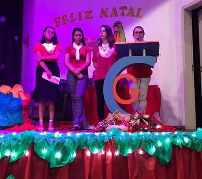 Apresentações natalinas do CMEI Lugar de Gente Feliz