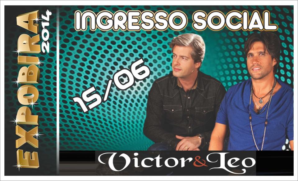 Ingressos para show com Victor e Leo já podem ser trocados por alimentos nos mercados de Ubiratã