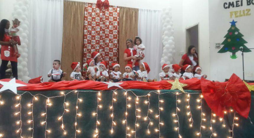 Comemoração do Natal do CMEI Boa Vista