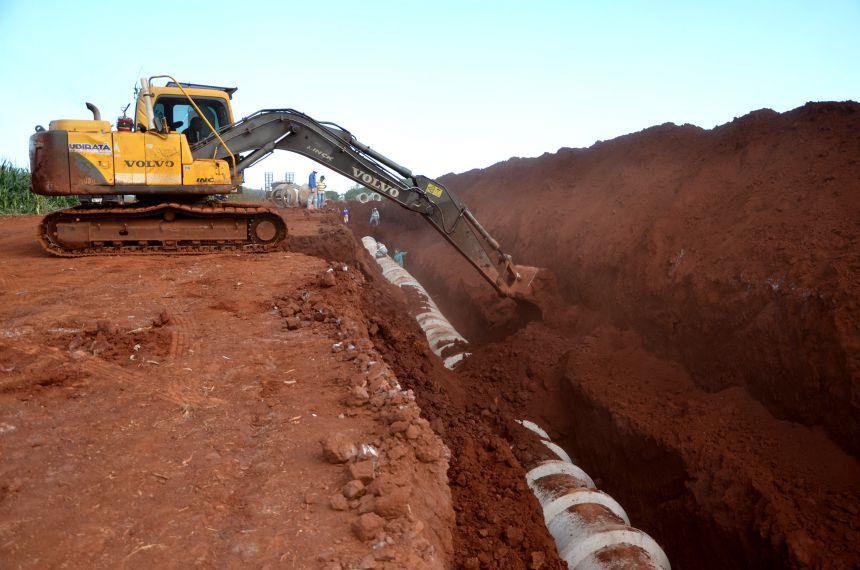 Construção de galerias pluviais vai resolver antigo problema de erosão no Distrito de Yolanda
