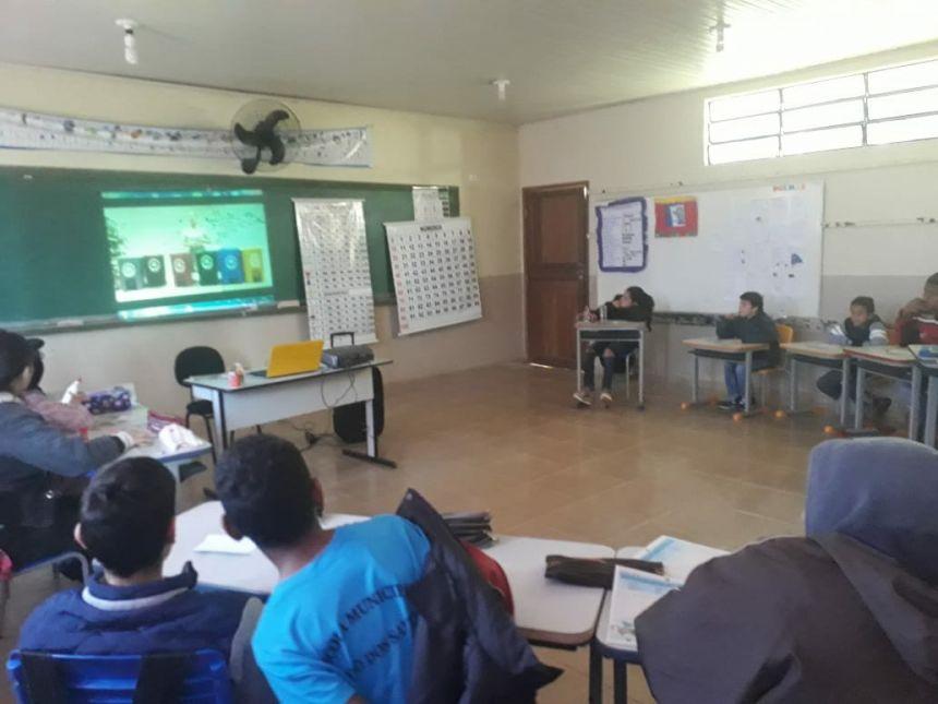 Escola Municipal do Campo Porto dos Santos conta com atividades sobre a importância do meio ambiente