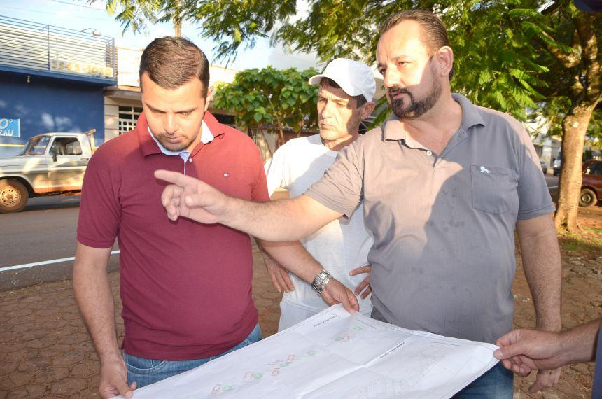 Calçadão será construído na Avenida Ascânio Moreira de Carvalho