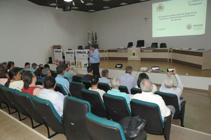 Município de Ubiratã realizou a 3ª Conferência Municipal de Segurança Alimentar e Nutricional