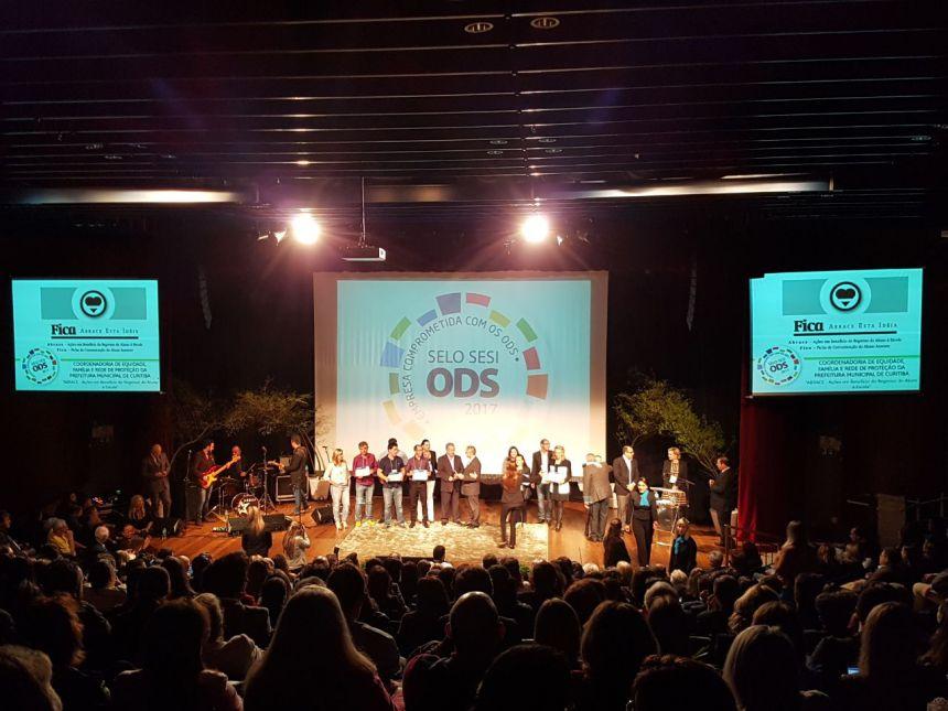 Ações desenvolvidas em Ubiratã são reconhecidas com SELO SESI ODS 2017