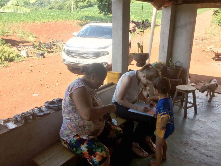 """Assistência Social: Setor de Cadastro Único realiza visitas """"in loco"""""""