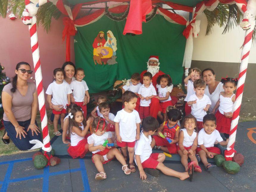 Comemoração Natalina no CMEI Dona Mariquinha