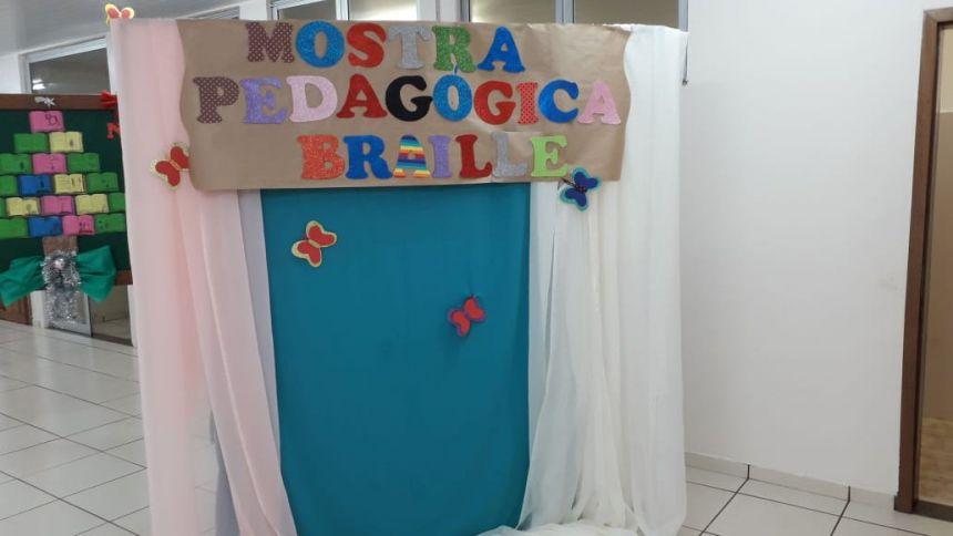 Escola Municipal Monteiro Lobato realizou Mostra Pedagógica das Salas de Deficientes Visuais e Baixa Visão