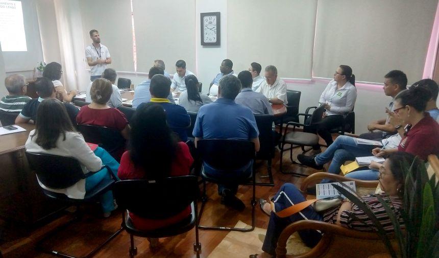 Censo demográfico 2020 foi tema de reunião entre IBGE, autoridades e representantes da sociedade