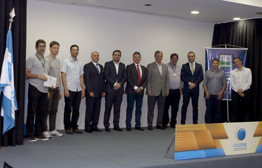Ubiratã presente no lançamento de novas tecnologias para o Estado e municípios
