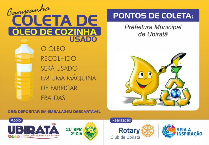 Campanha em parceria Rotary e Prefeitura começa a dar resultado