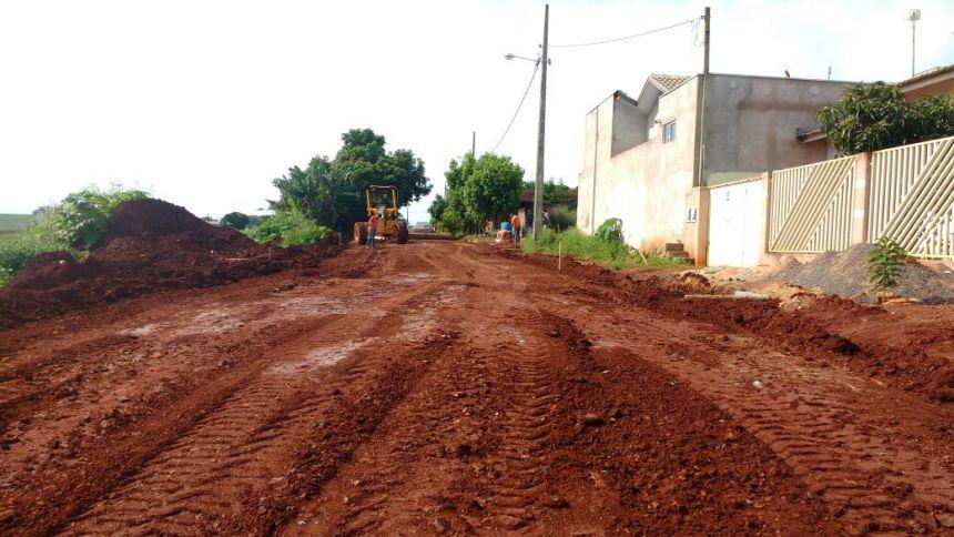 Administração municipal irá asfaltar Rua no Jardim Petrica