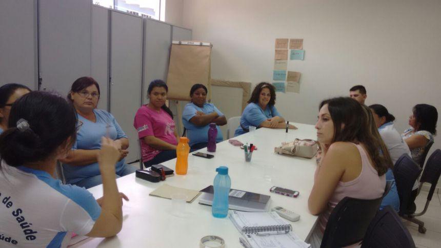 Equipe da Saúde participa de reunião de planejamento