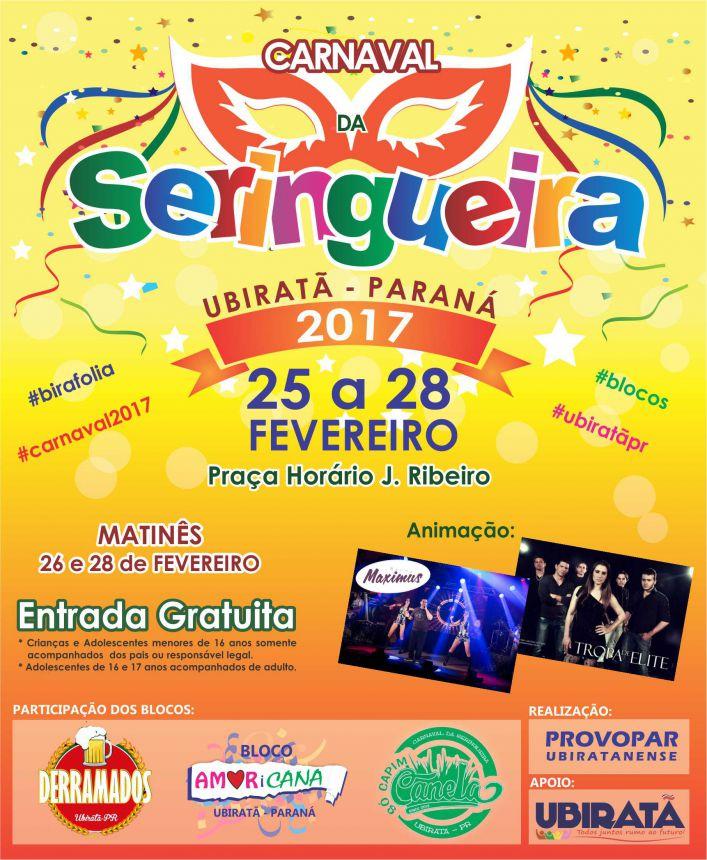 Tudo que você precisa saber sobre o Carnaval da Seringueira 2017