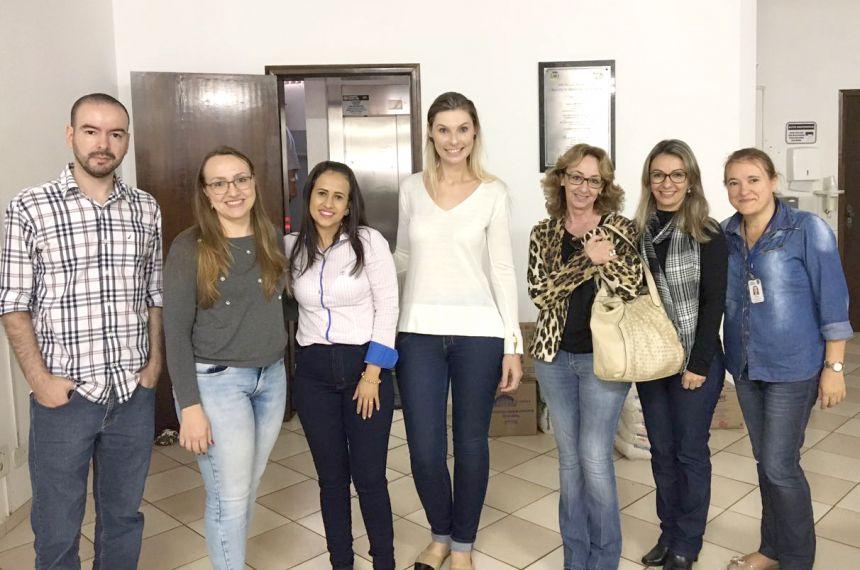 Profissionais de Ubiratã foram conhecer projeto sobre uso de medicamento Ritalina em Campo Mourão