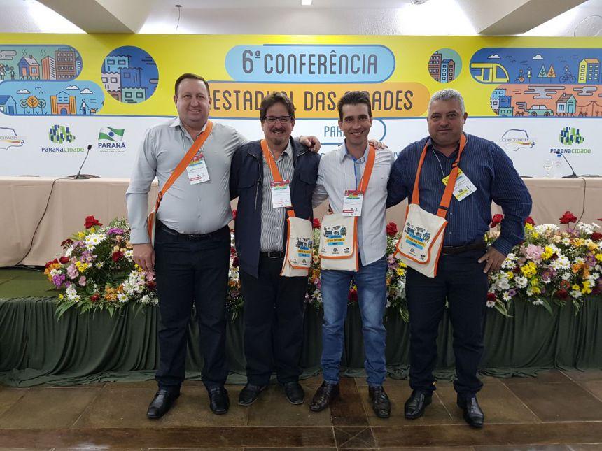 Ubiratã na 6ª Conferência Estadual das Cidades