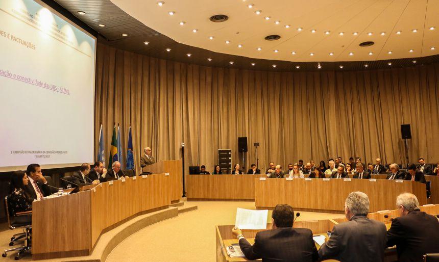 Secretária ubiratanense participou de reunião que pediu adiamento de pactuação sobre Fundo de Ações Estratégicas e Compensação