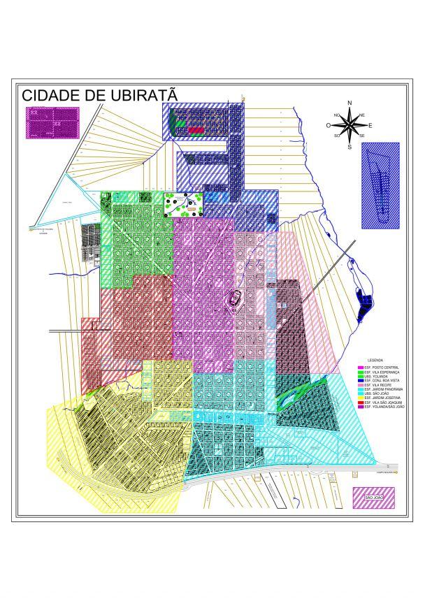 Secretaria Municipal de Saúde organizou uma nova divisão de território na saúde em Ubiratã
