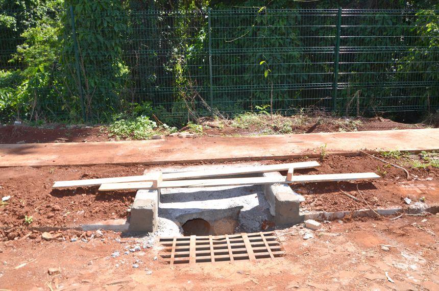 Construção de mais boca de lobos resolverá problema de alagamentos na região do Bosque