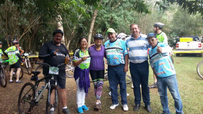 """""""Vou de Bike 2017"""" transformou Ubiratã na capital do ciclismo"""