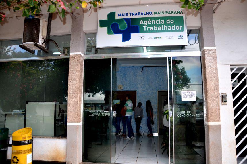 Agência do Trabalhador de Ubiratã tem vagas de trabalho disponíveis