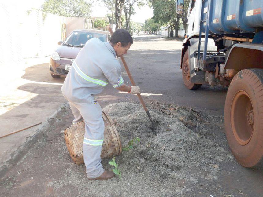 Serviços Urbanos já começou limpeza geral da cidade para final de ano