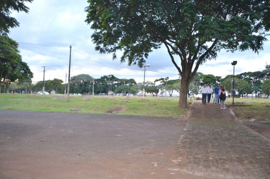 Prefeito e secretários vistoriam local que receberá a Expobira 2017