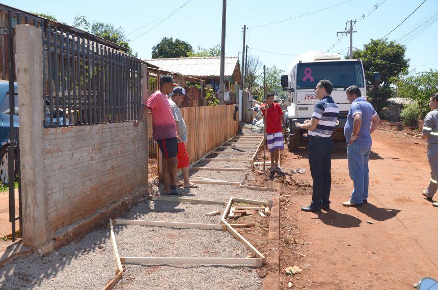Vila São Joaquim se transforma em um canteiro de obras