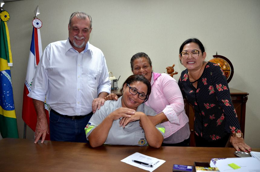 Margaridas participam de café da manhã no gabinete do prefeito